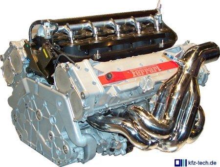 Formel-1-Motor, Symbol für geringes Leistungsgewicht