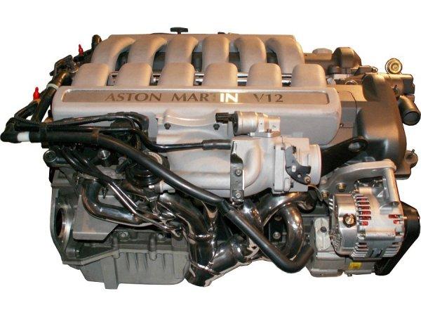Aston Martin V12 Motor Aston Martin Motor Db 9 Vanquish S Engine V Twelve Cylinder Displacement 5935 Cm Bore Stroke 89 79 5 Mm Compression 10 3 10 8 1 Number Of Valves 4 Per Cylinder Engine Control 2 Dohc Chain Engine Management